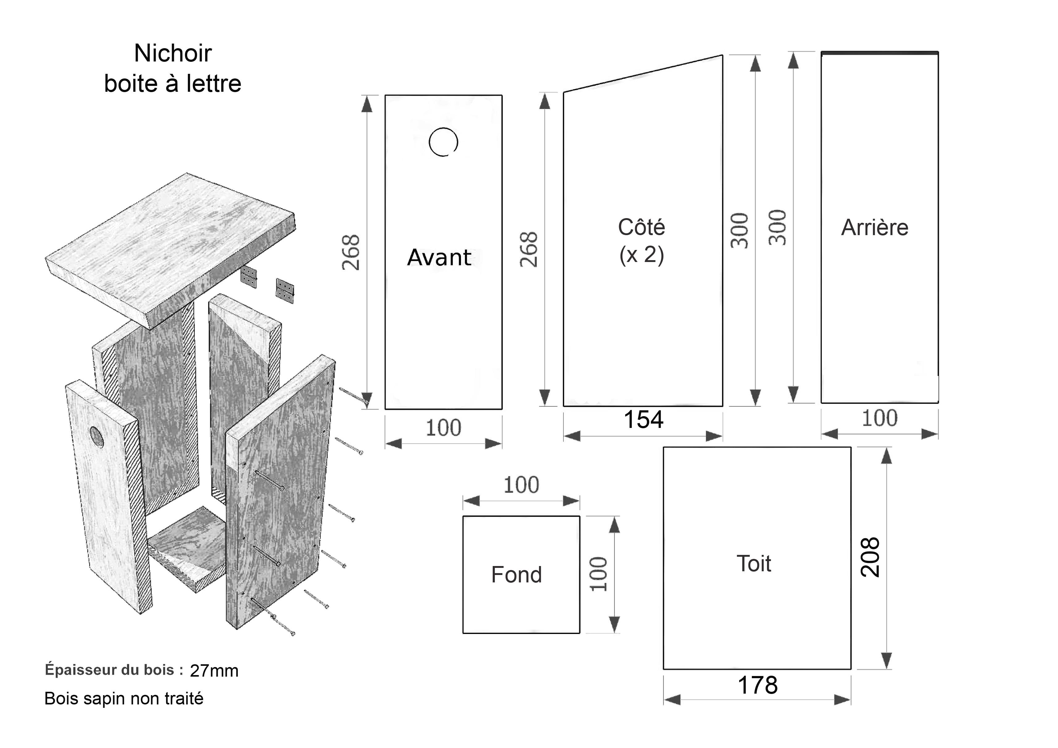 atelier cr ation nichoirs. Black Bedroom Furniture Sets. Home Design Ideas