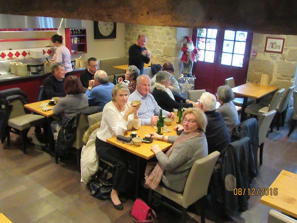 Restaurant annuel des membres du ca des jardiniers de la for Restaurant au croisic