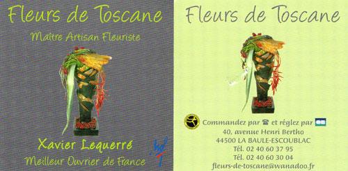 Fleurs de Toscane