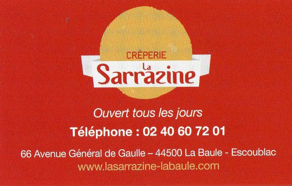 Crèperie Sarrazine !